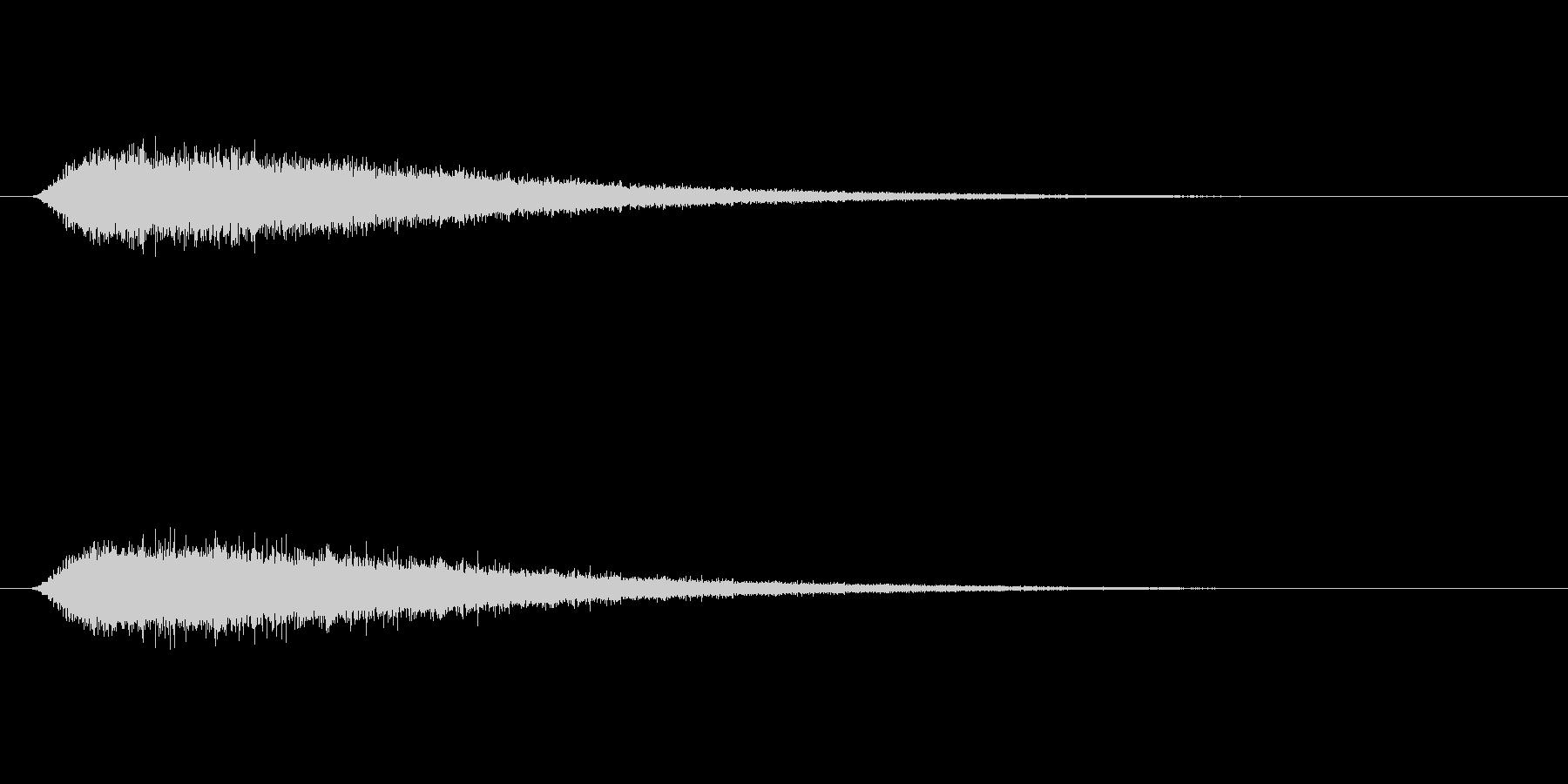【ショートブリッジ31-2】の未再生の波形