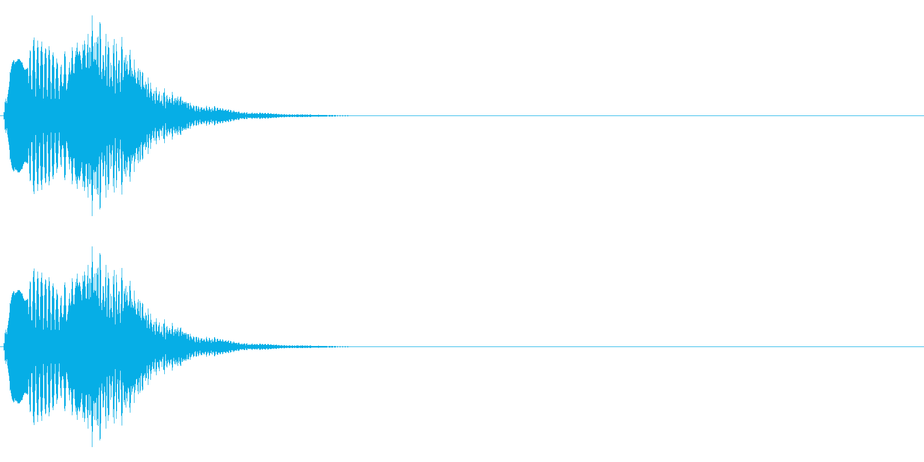 ピロの再生済みの波形