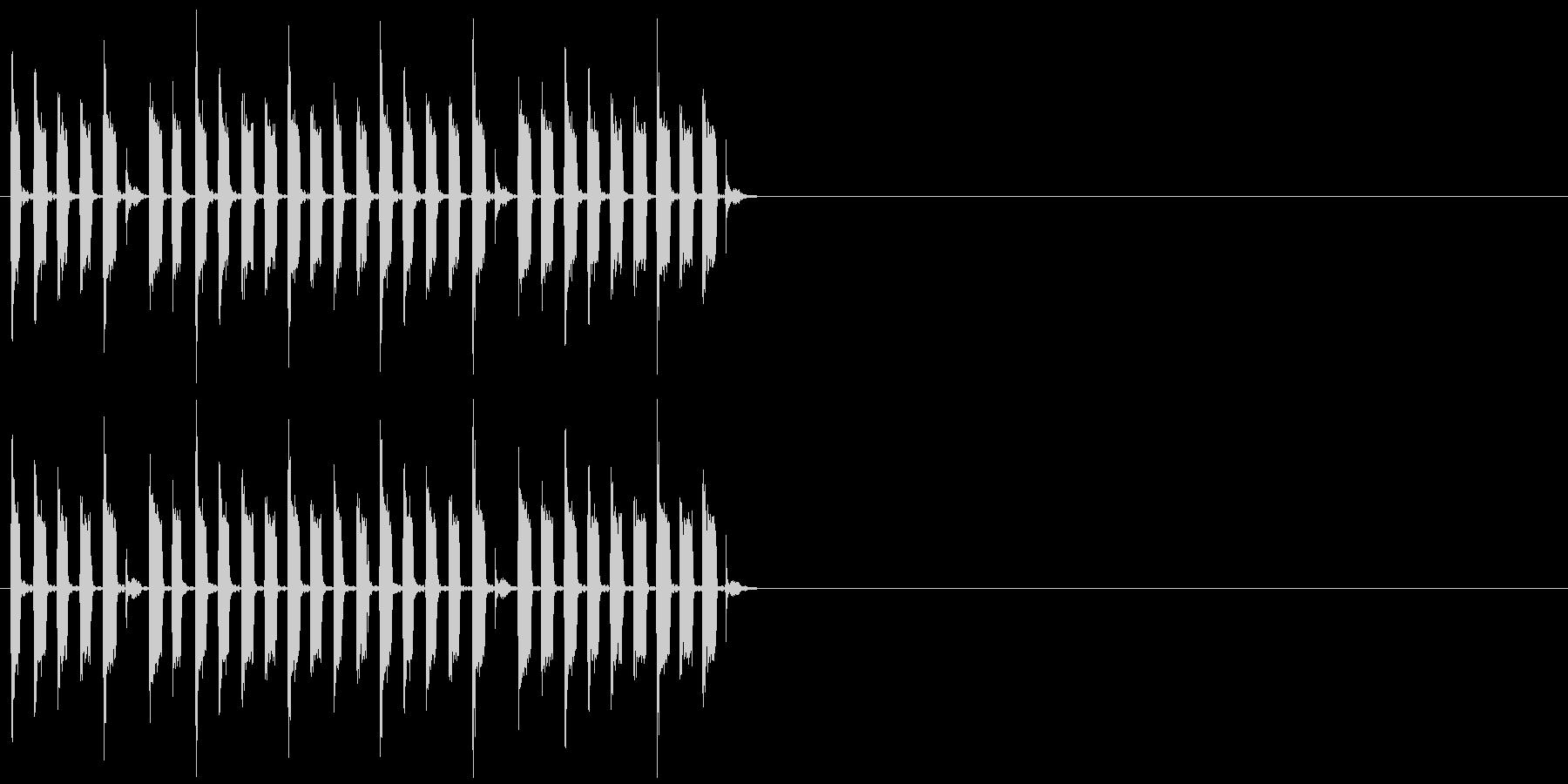 クイズ ショータイム イベント 子供の未再生の波形