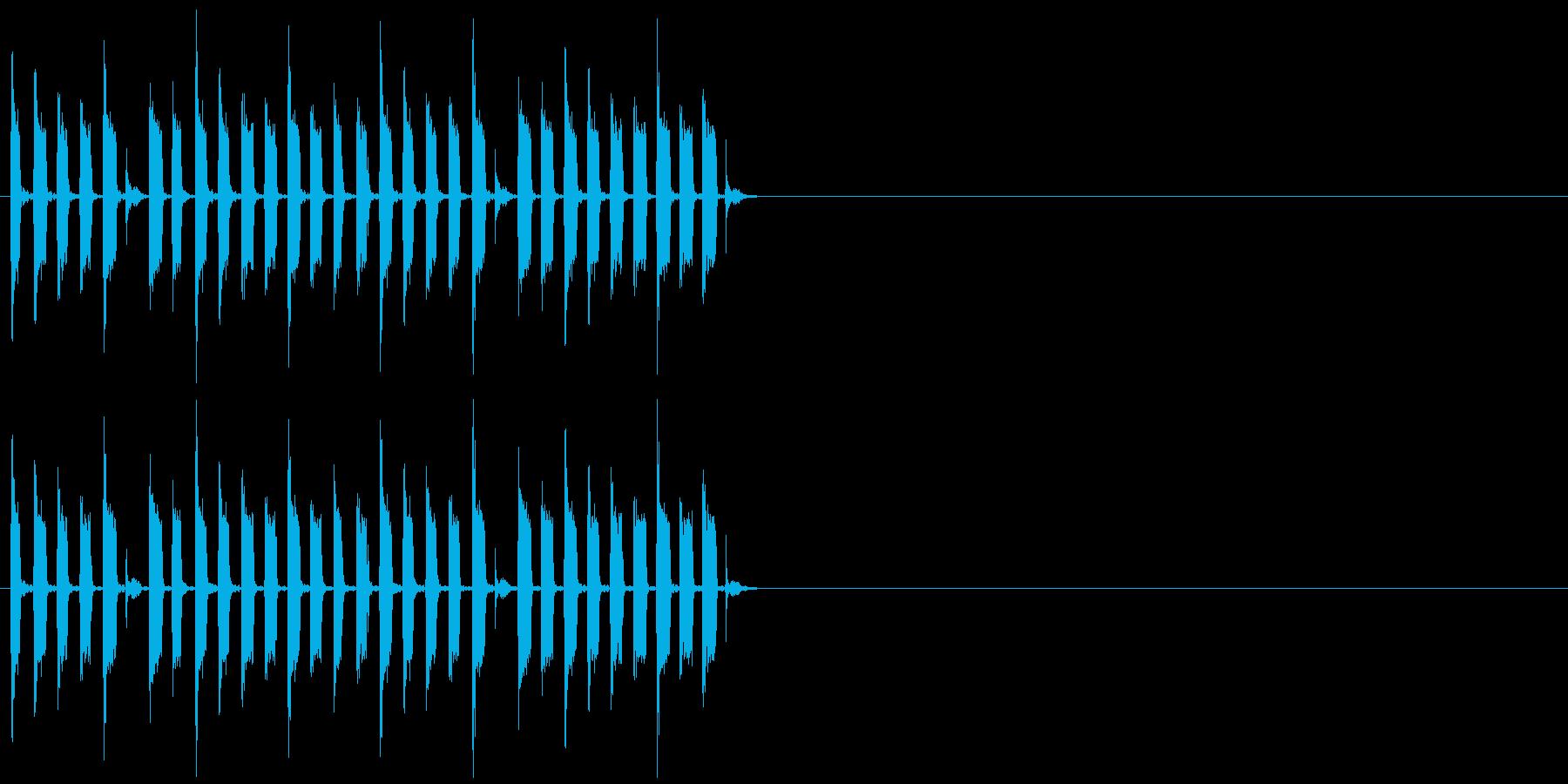 クイズ ショータイム イベント 子供の再生済みの波形