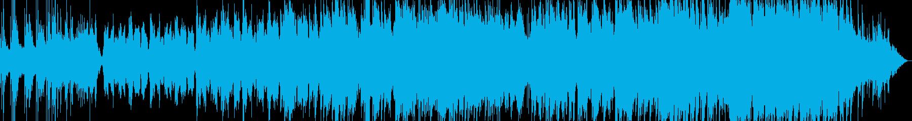 ピアノが印象的な優しいバラードの再生済みの波形