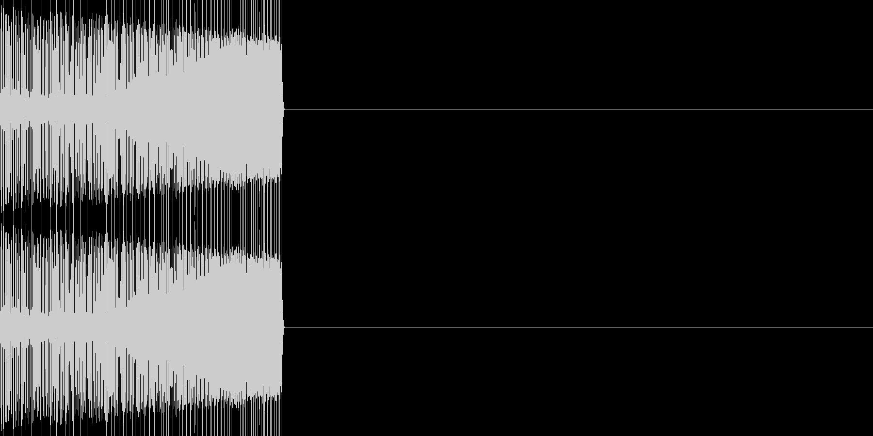 エンカウント02(ファミコン風)の未再生の波形