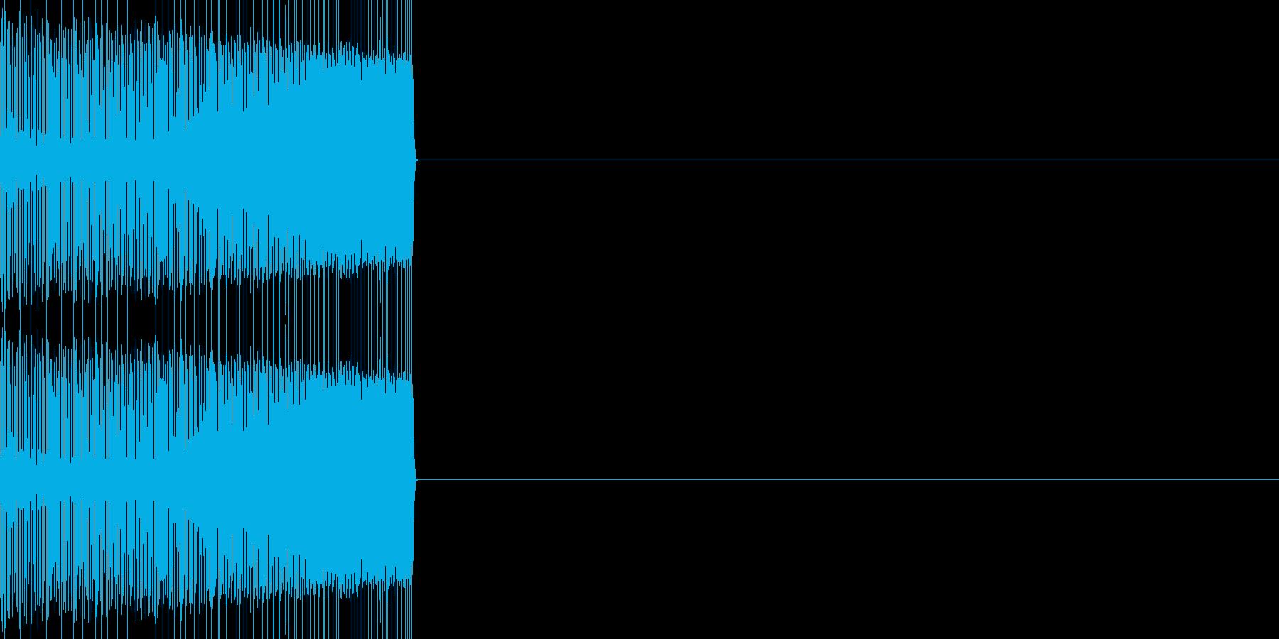エンカウント02(ファミコン風)の再生済みの波形