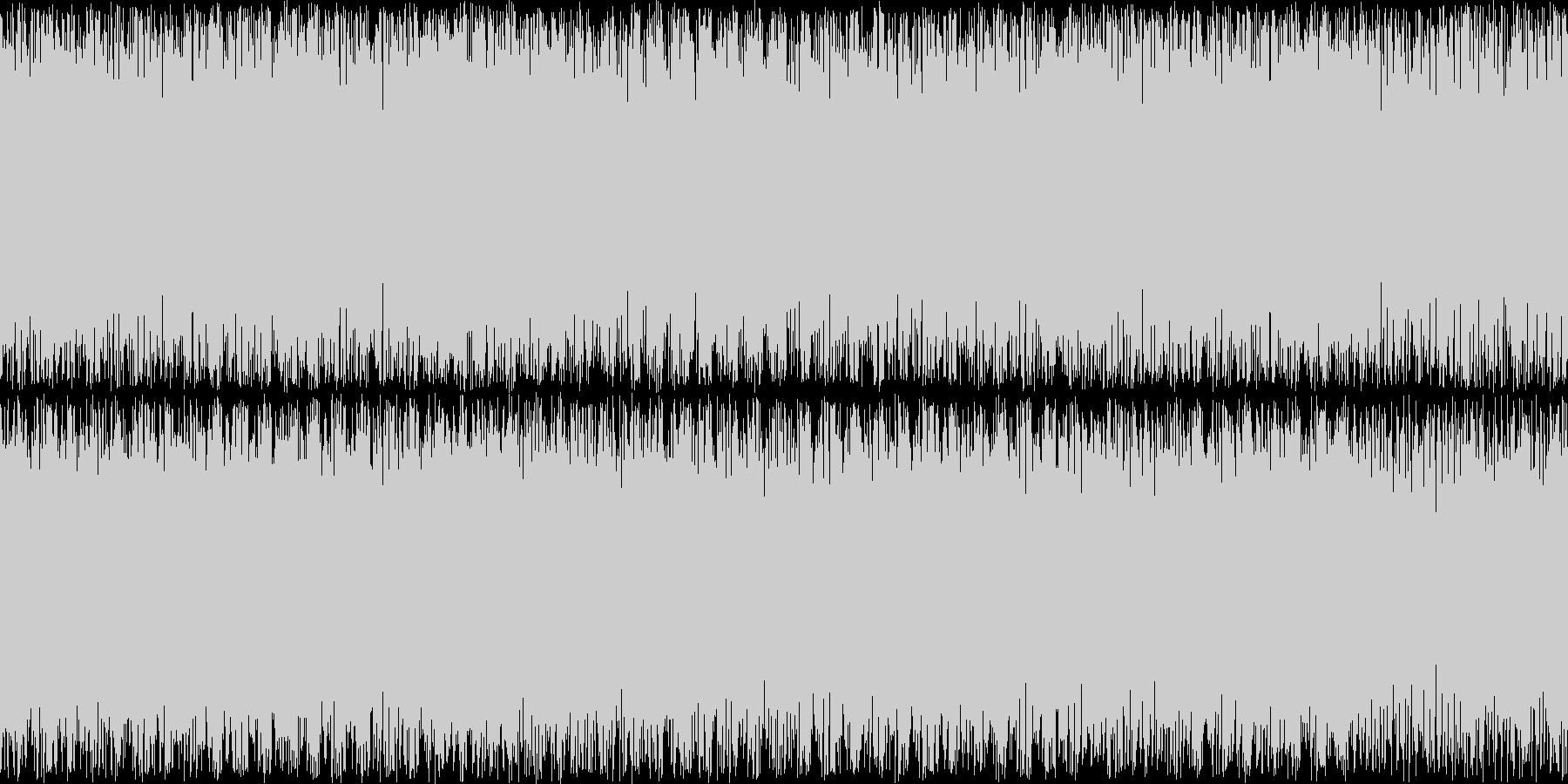 重厚なオーケストラBGM。敵からの逃走…の未再生の波形