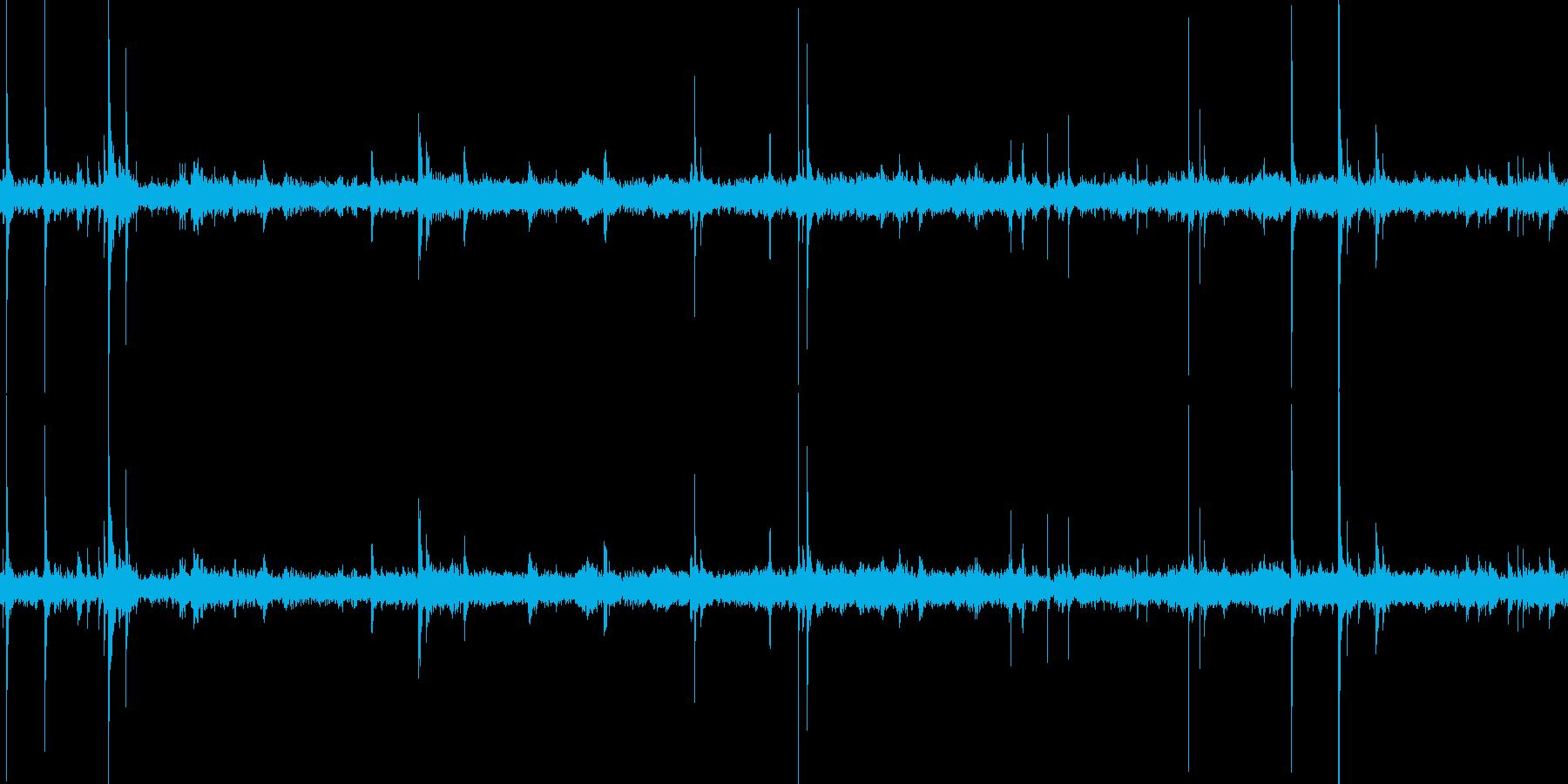 ビリヤード場(環境音)の再生済みの波形