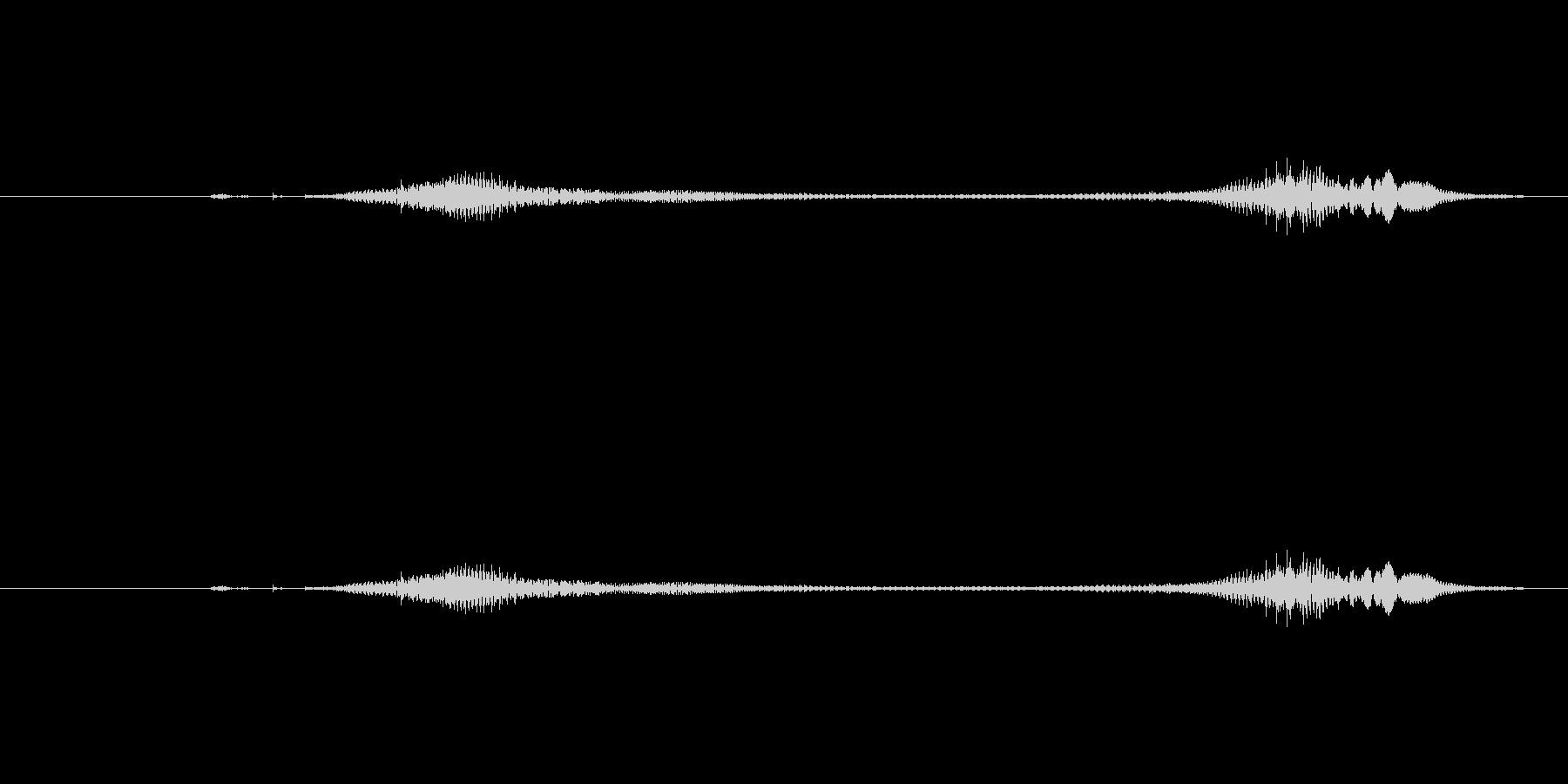 ニャー_猫声-34の未再生の波形