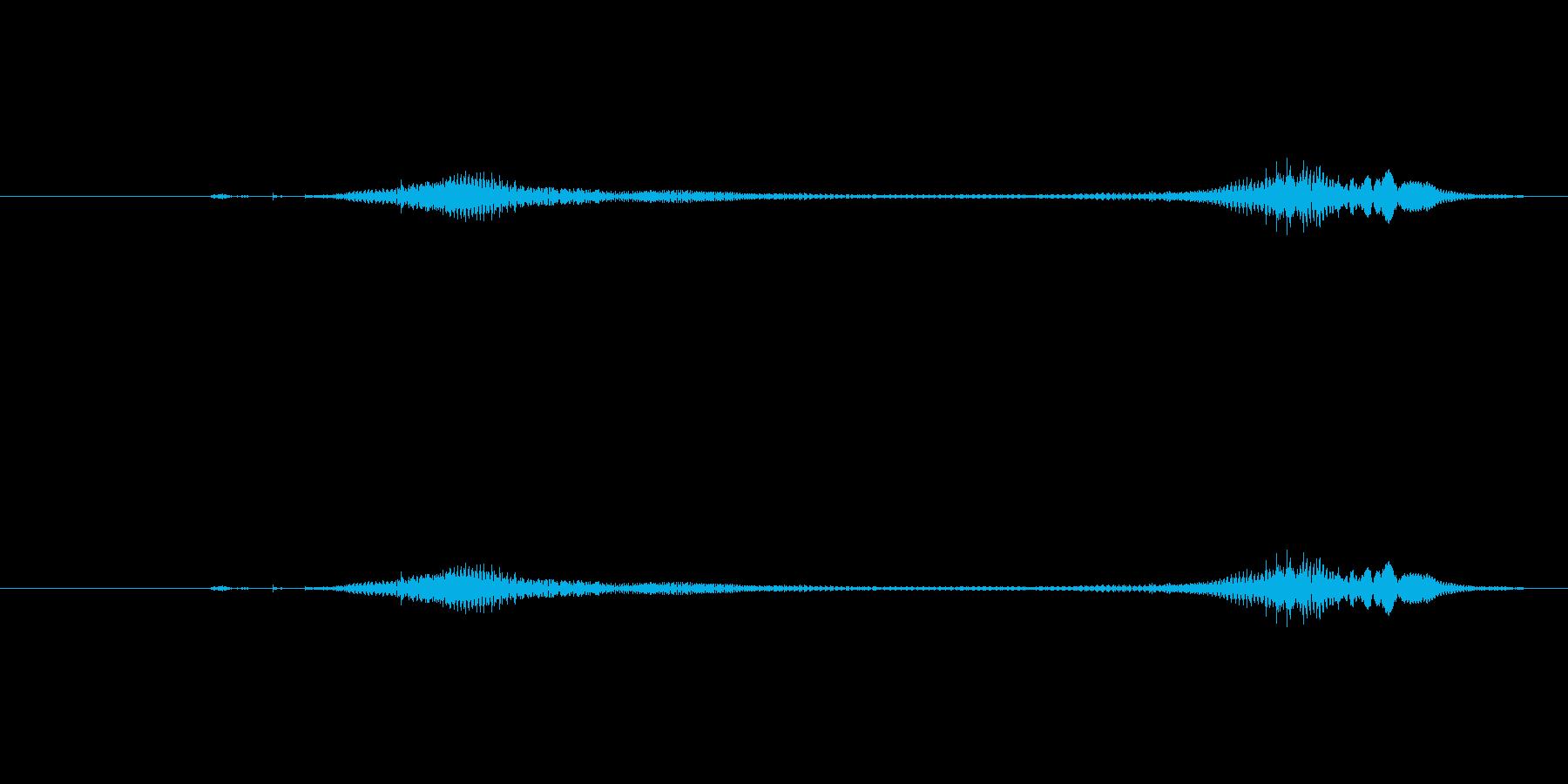 ニャー_猫声-34の再生済みの波形