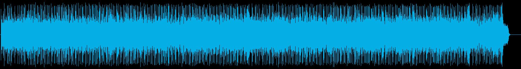前向きで充実したポップ(フルサイズ)の再生済みの波形