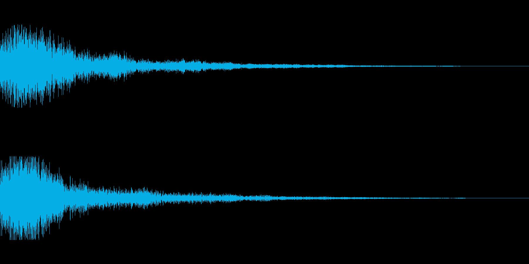 [ピュオン]決定音(可愛く柔かい)の再生済みの波形