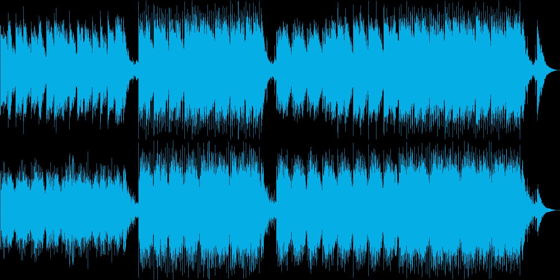 未来感・高揚感の神秘的なエレクトロニックの再生済みの波形