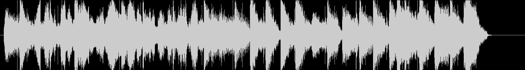 ジングル ブルーグラス カントリーの未再生の波形