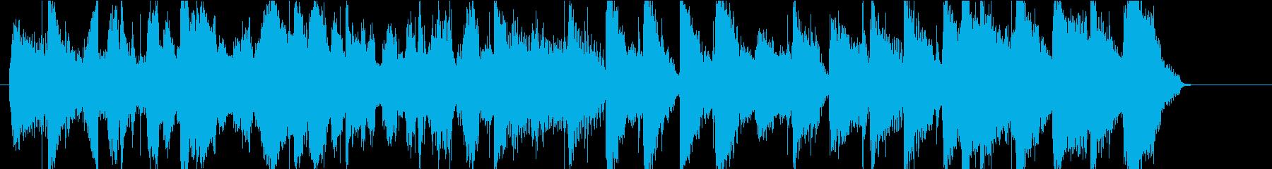 ジングル ブルーグラス カントリーの再生済みの波形