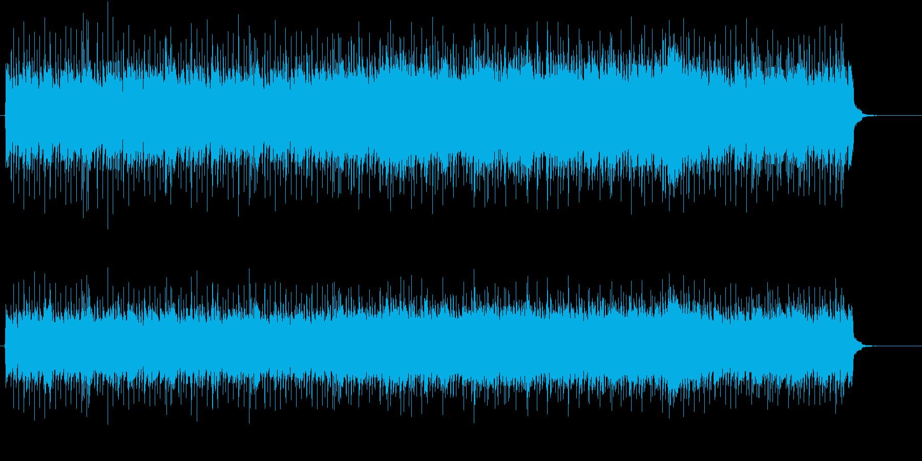縦横無尽に迫りくるハード・ロックの再生済みの波形