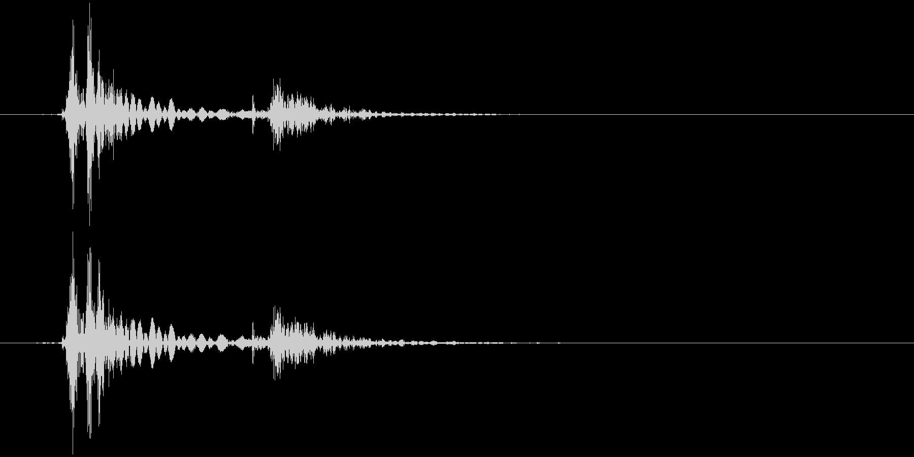 キーボード 一打B スペース風 (生音)の未再生の波形