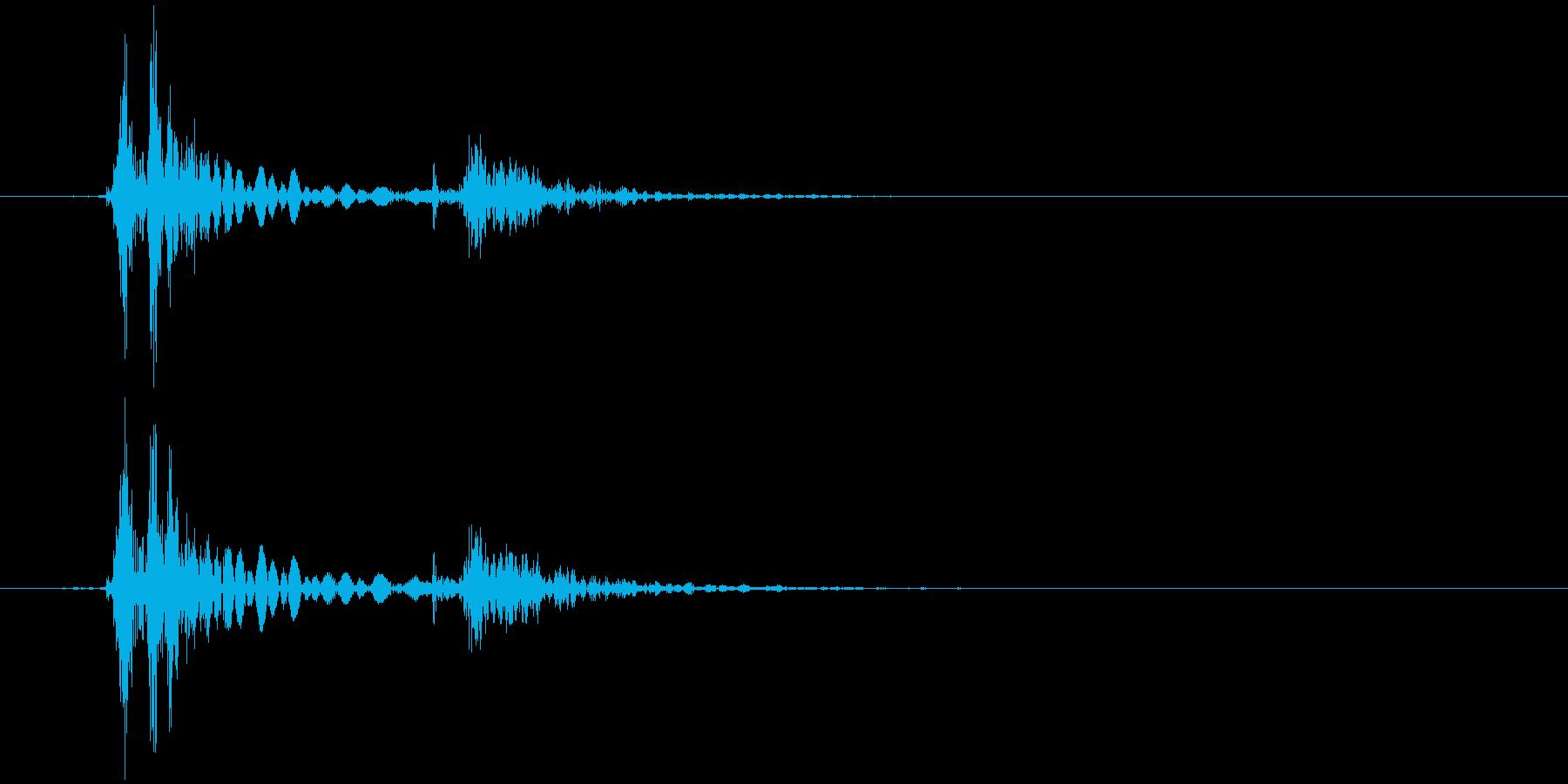 キーボード 一打B スペース風 (生音)の再生済みの波形