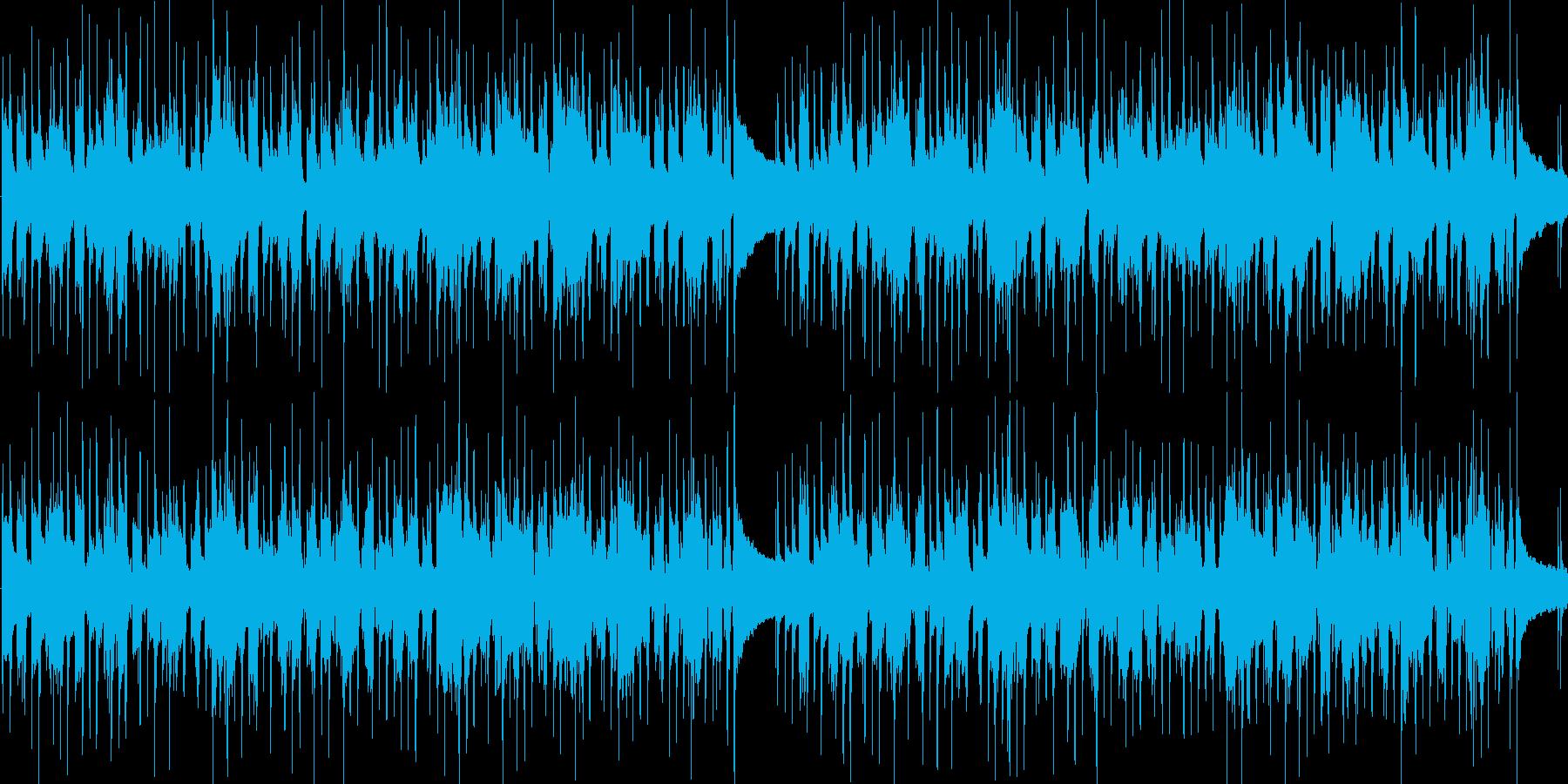 ほのぼのとしたカントリー風のBGMです…の再生済みの波形