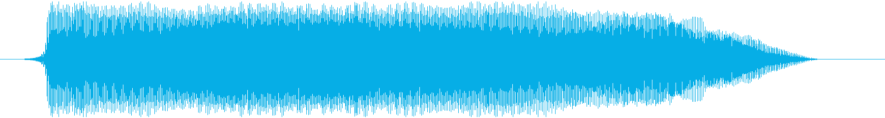 おもちゃの笛 プゥゥーの再生済みの波形