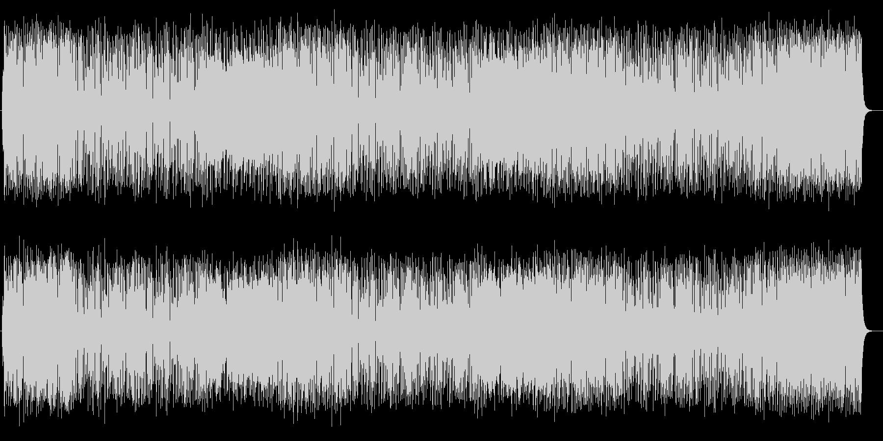 楽しい雰囲気のピアノポップスの未再生の波形