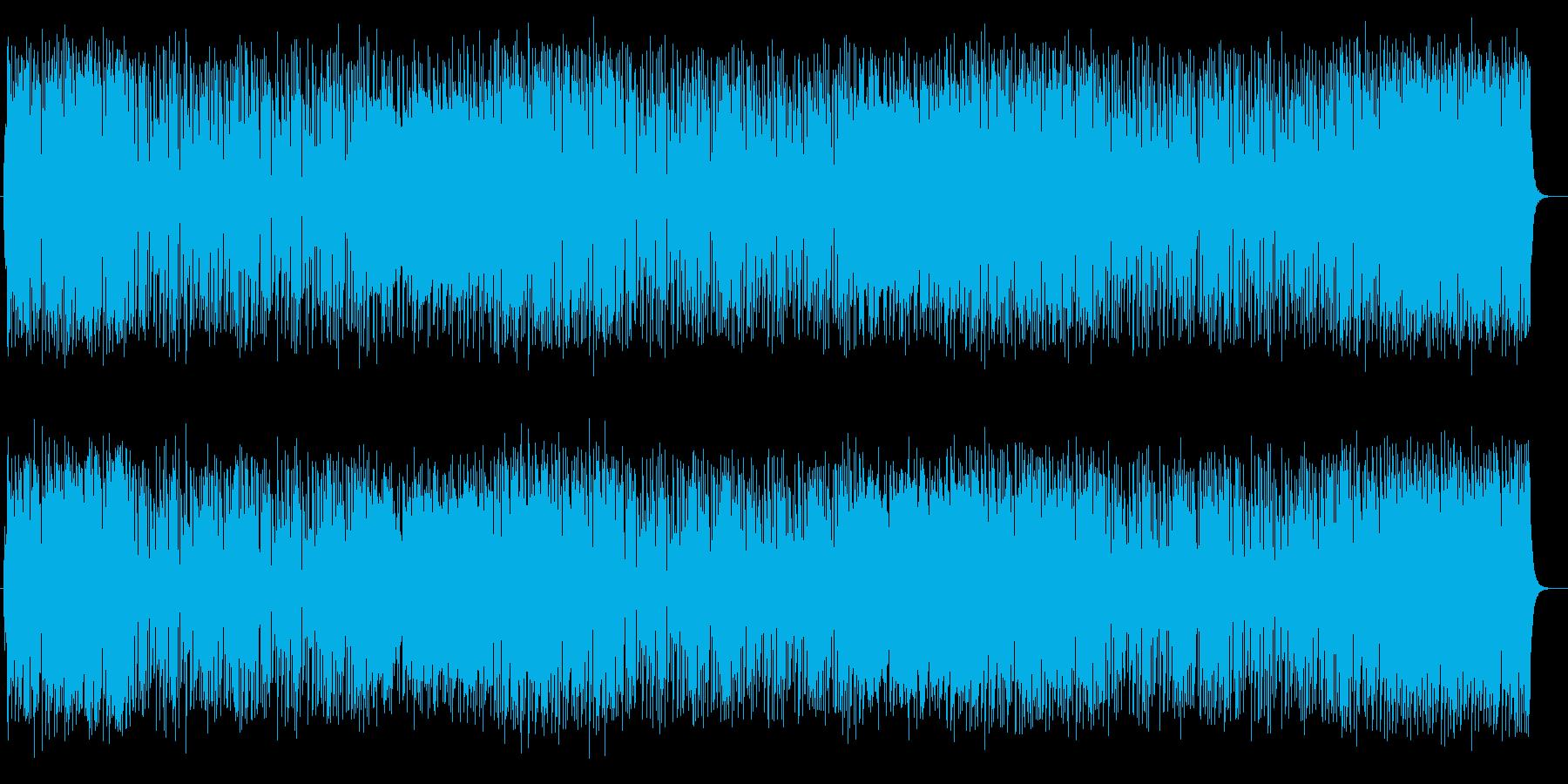 楽しい雰囲気のピアノポップスの再生済みの波形