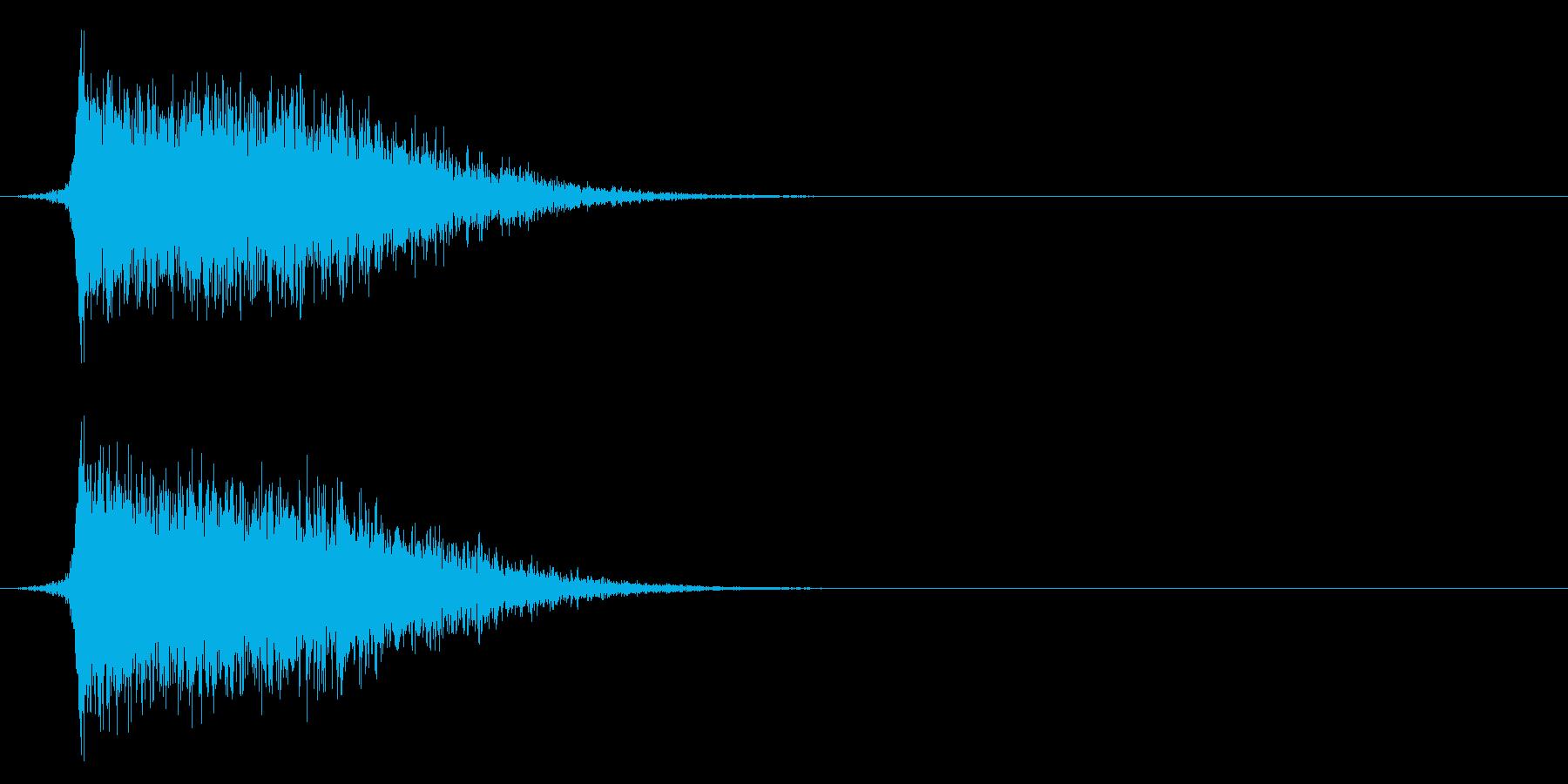 コミカルなダッシュ!ジャンプ効果音!08の再生済みの波形