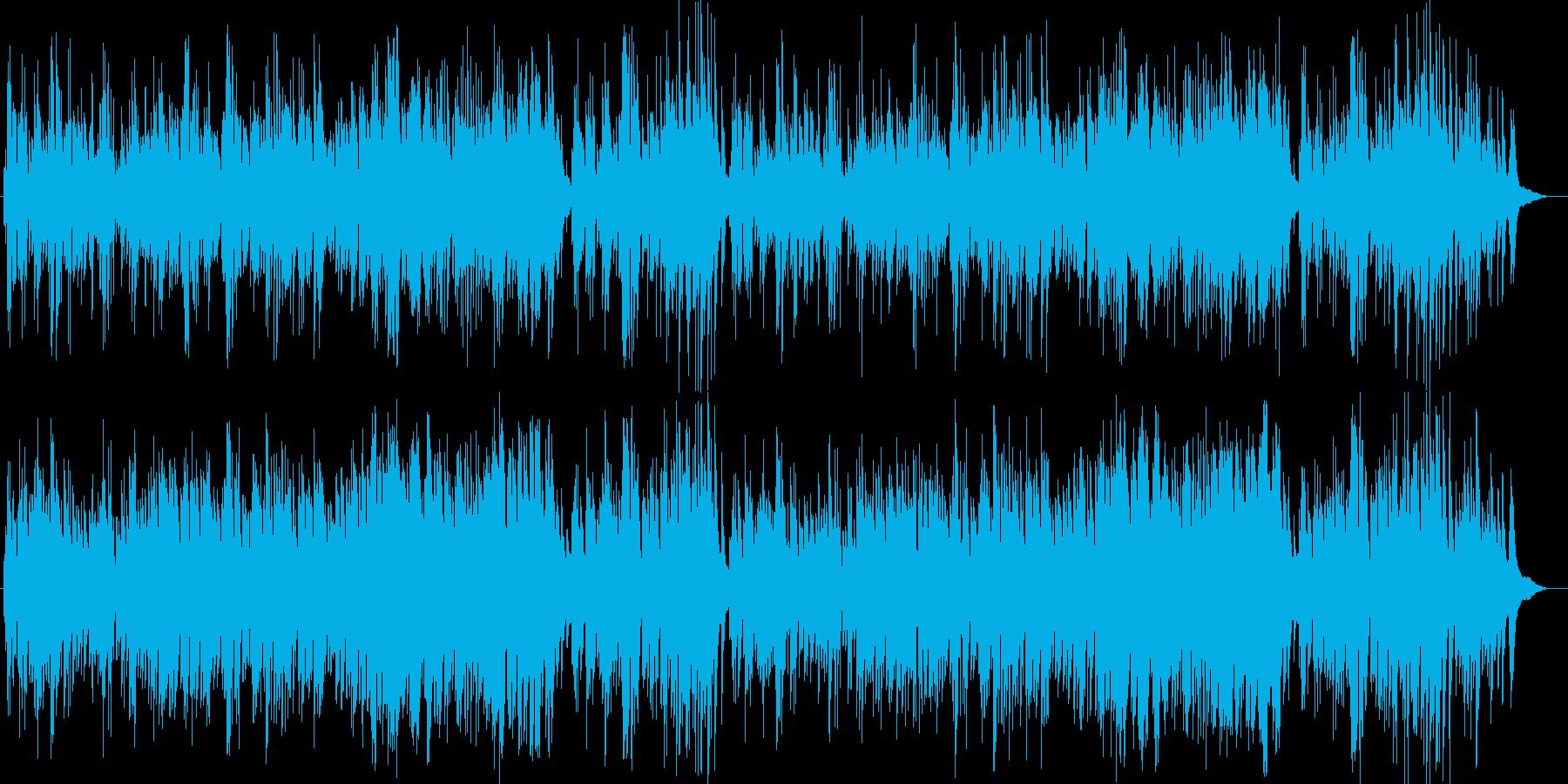 美しく綺麗なピアノによるバラードの再生済みの波形