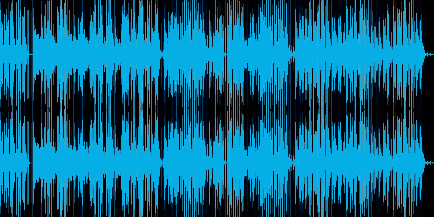 軽いニカ感のあるピアノHIPHOPの再生済みの波形