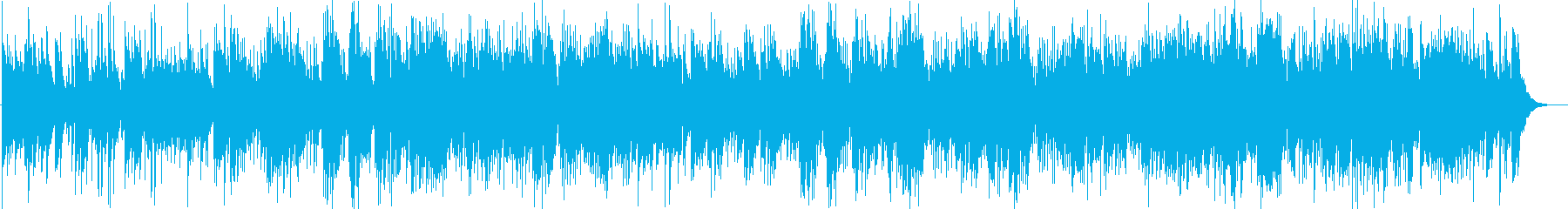 ハープ&アコギの穏やかなアコースティックの再生済みの波形