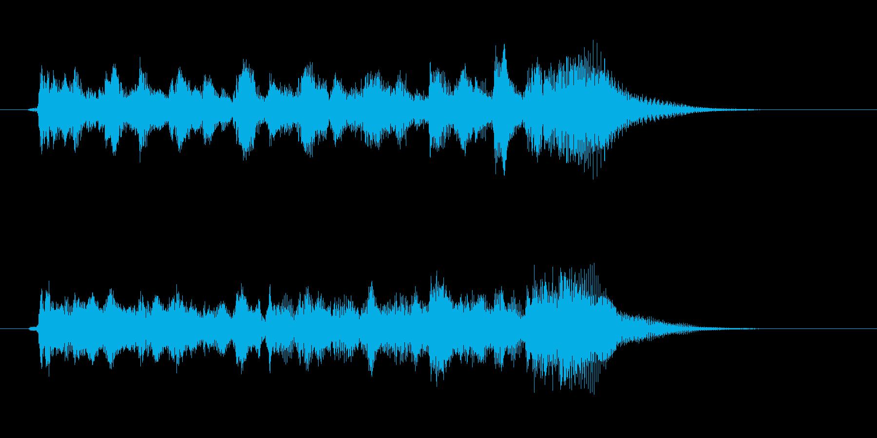 オープニング用ジングル115/ロングの再生済みの波形