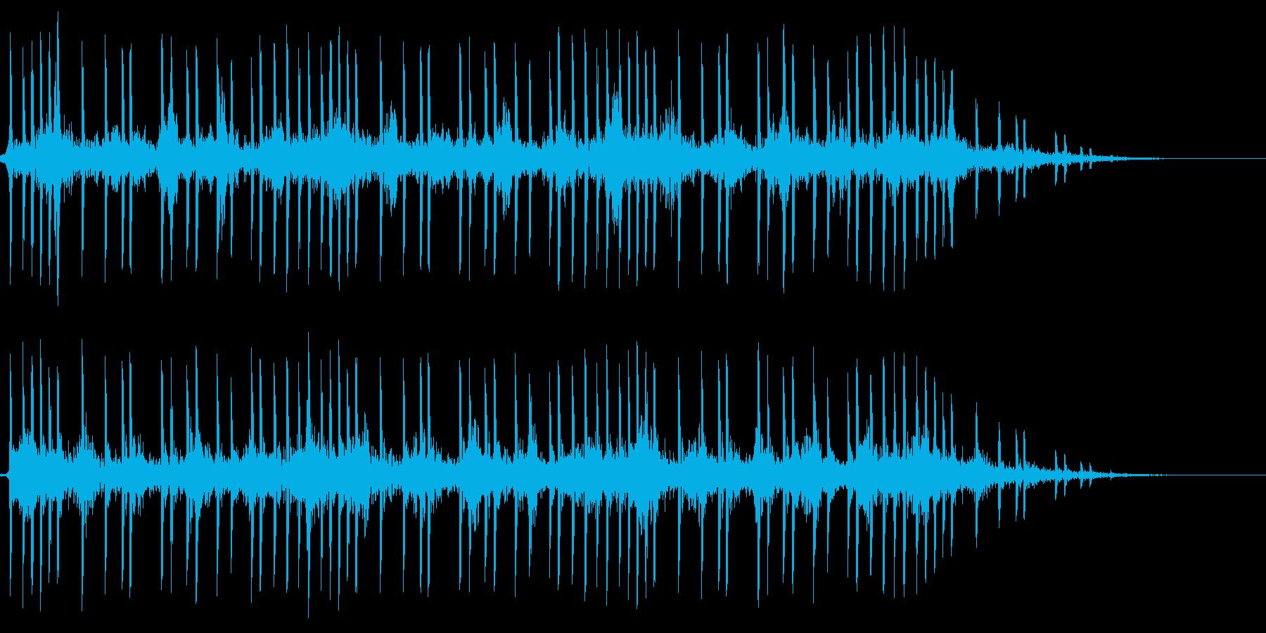 泡 シャボン玉がプクプク 水中 長めの再生済みの波形