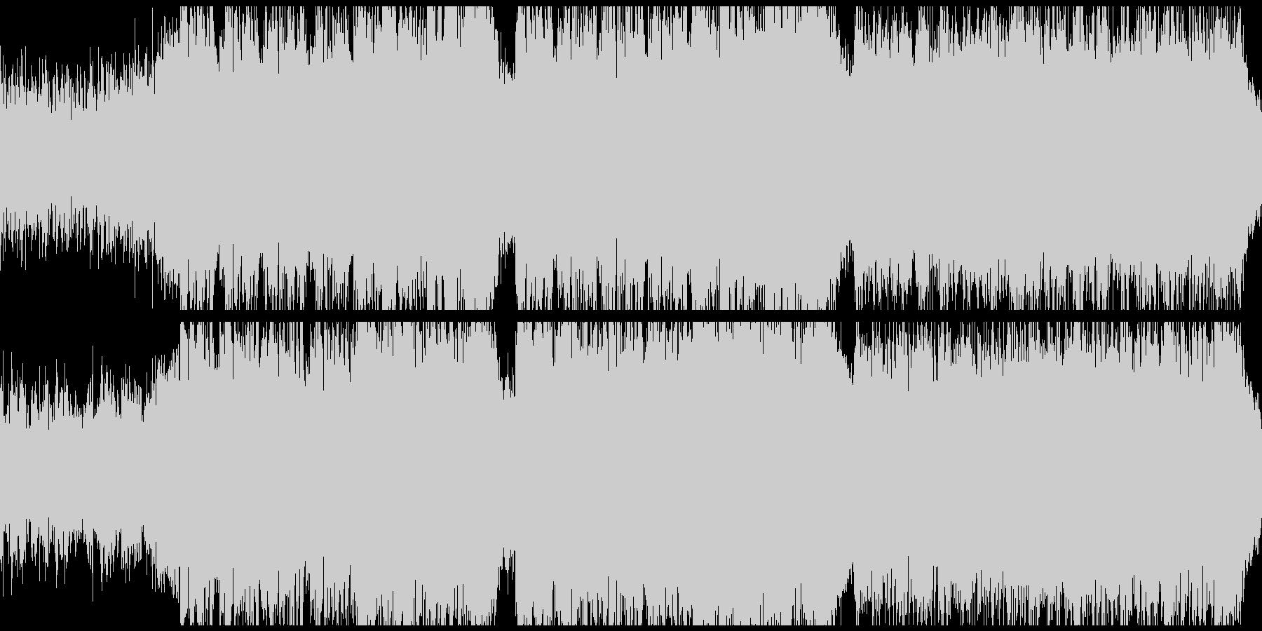 幻想的で淋しげな曲(ループ)の未再生の波形