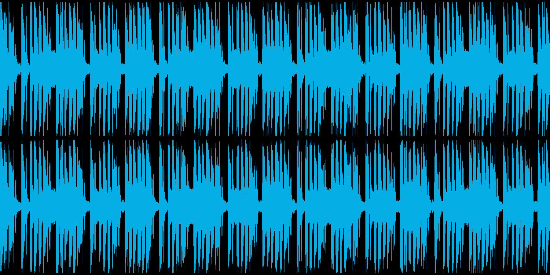 キャラ選択、システム画面など(ループ)の再生済みの波形