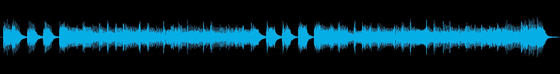 TVラジオ用。出囃子入場ピアノバイオリンの再生済みの波形