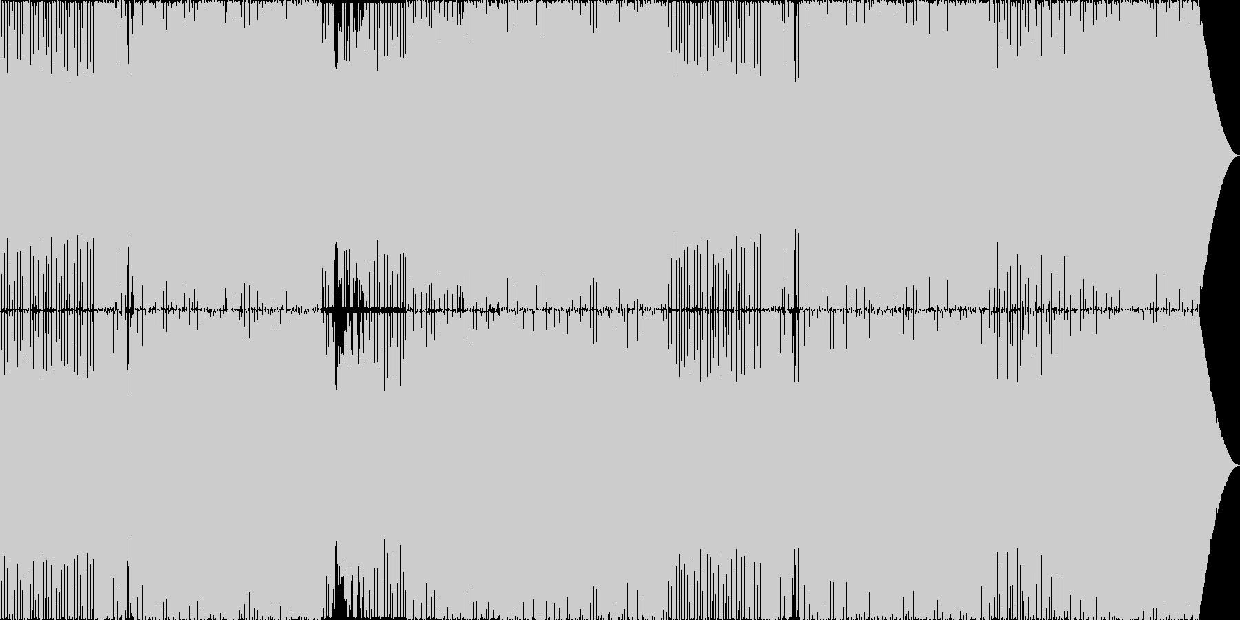 明るく楽しいEDM/シンセメロの未再生の波形