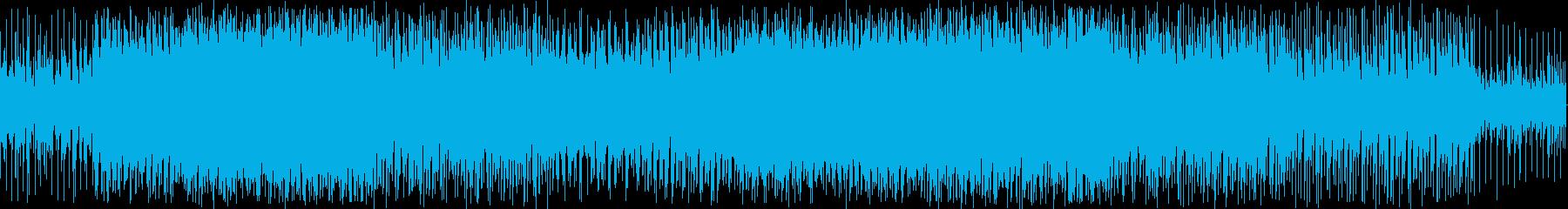 探索系ゲームのダンジョン向けなBGMですの再生済みの波形