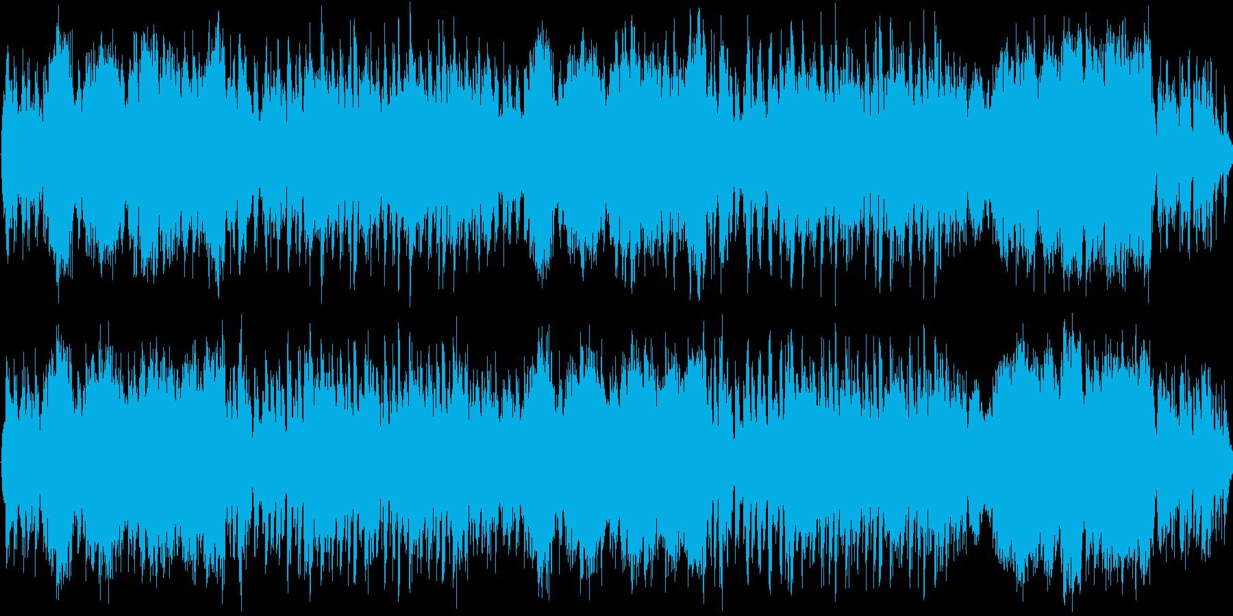 戦闘・バトル向けオーケストラの再生済みの波形