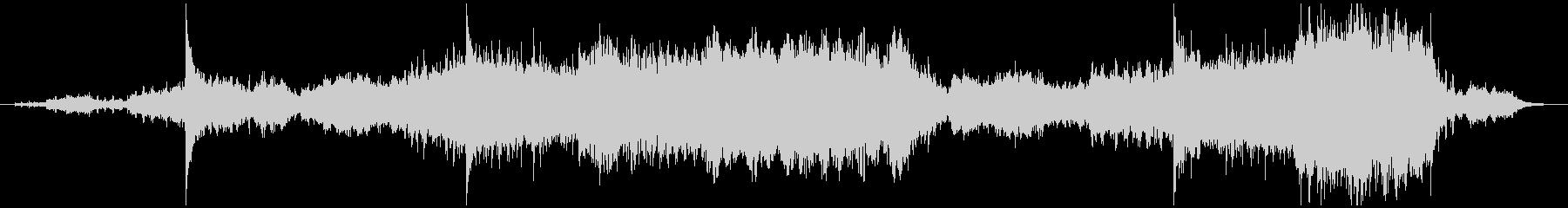和楽器やシンセ等を使用したアンビエントの未再生の波形