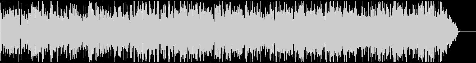フルート生演奏 暖かく未来感あるボサノバの未再生の波形