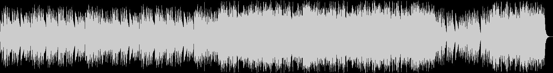 不安感のシンセサイザーサウンドの未再生の波形
