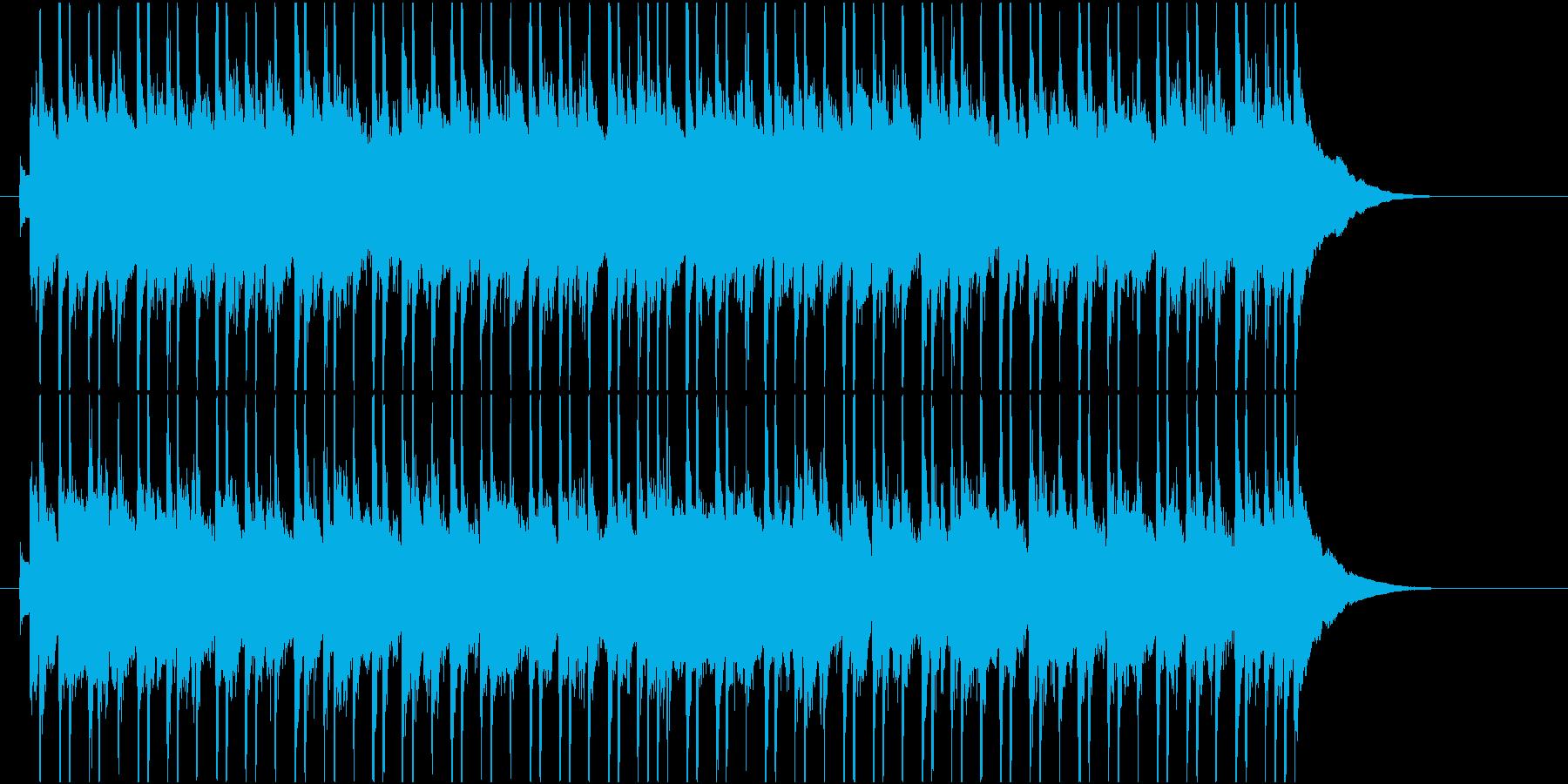 軽快に弾むチェレスタとピッコロの再生済みの波形