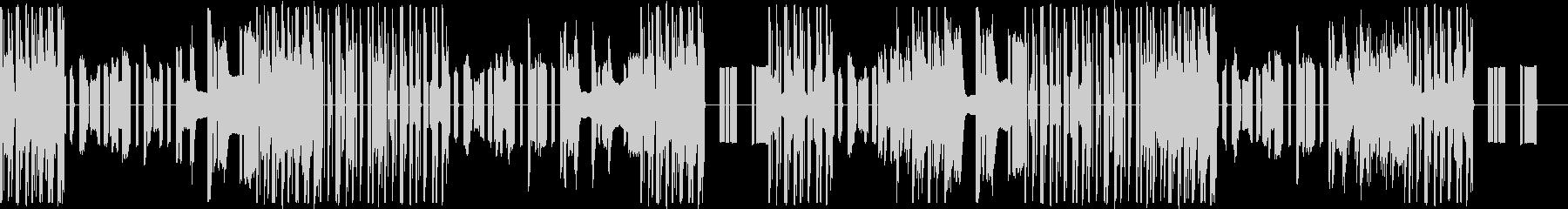 機械的な音楽ですの未再生の波形