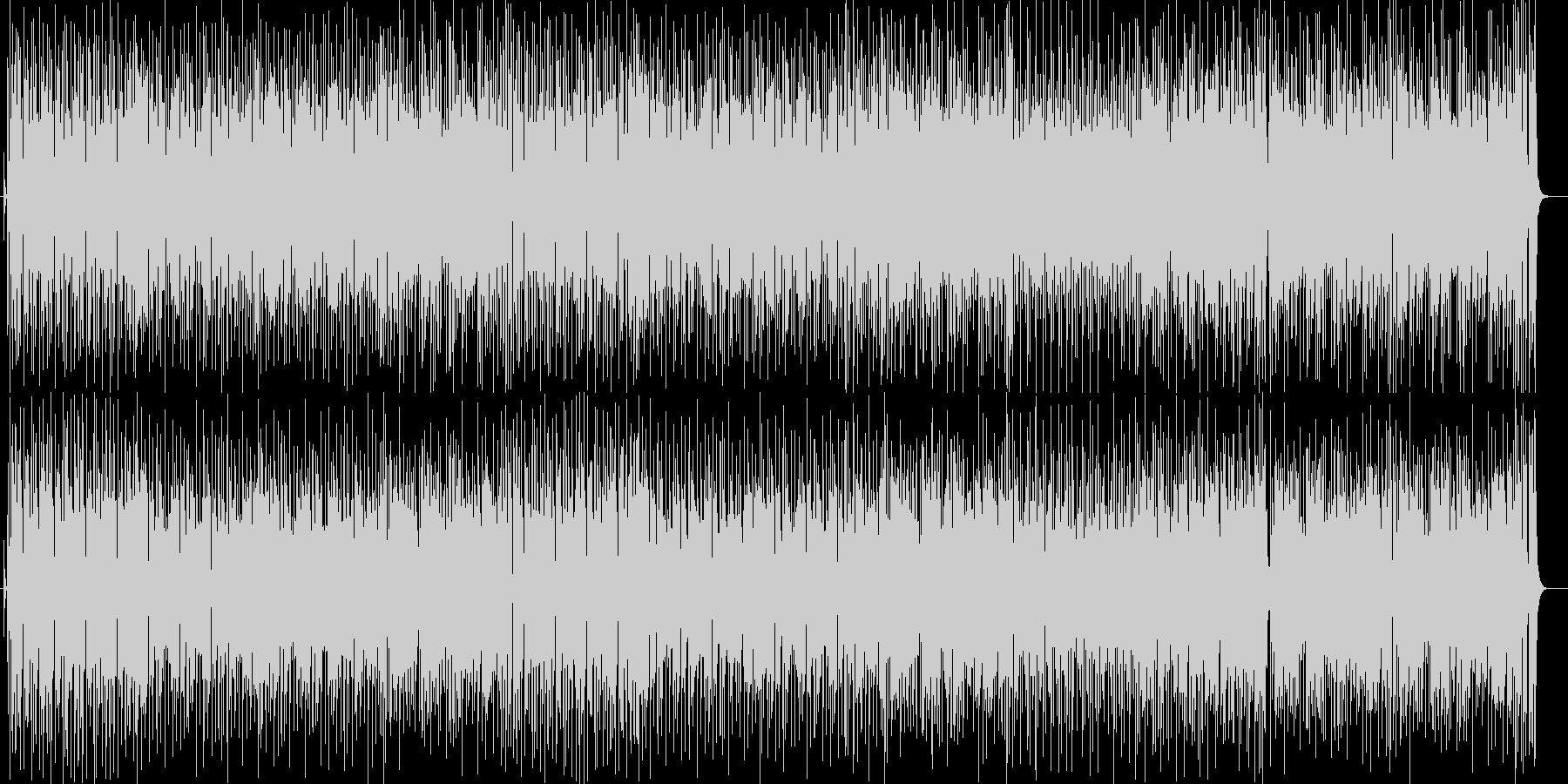 陽気なシンセ打楽器などの曲の未再生の波形