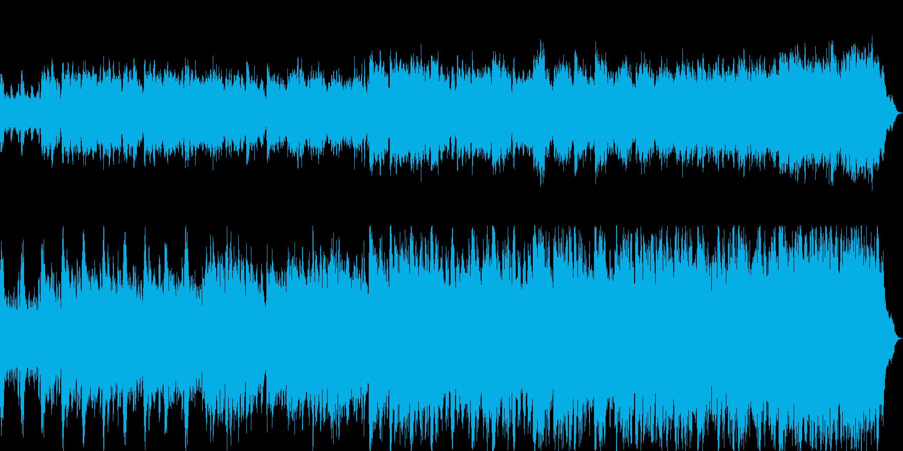 ストリングスで哀愁のあるキラキラメロディの再生済みの波形
