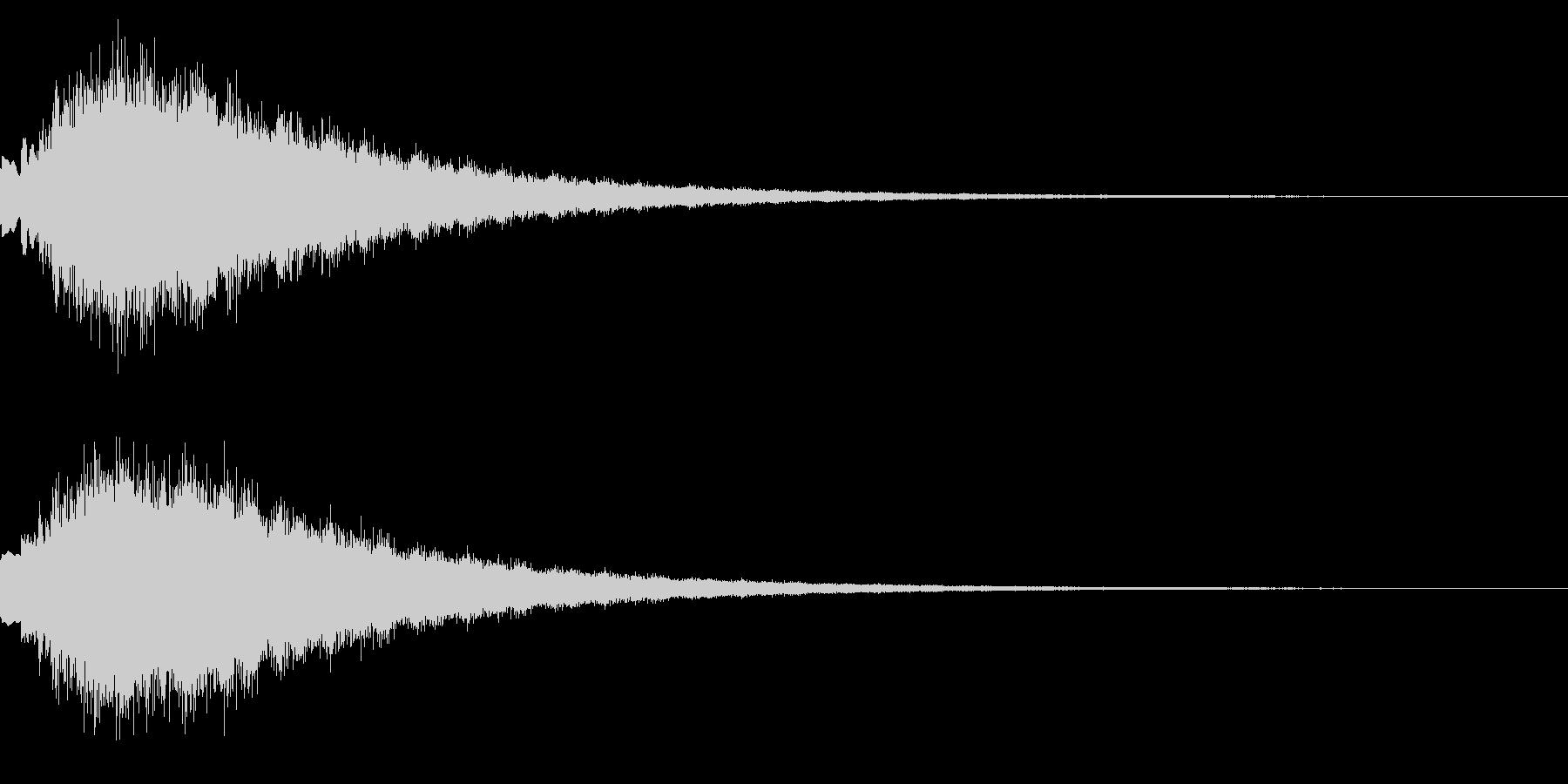 キラキラ シャララーン アイキャッチ04の未再生の波形
