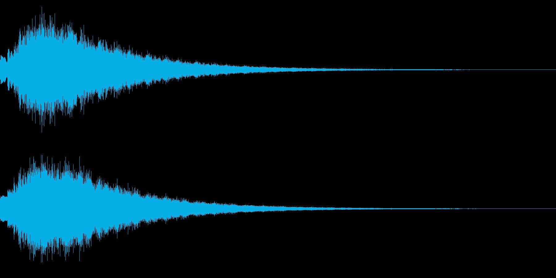 キラキラ シャララーン アイキャッチ04の再生済みの波形