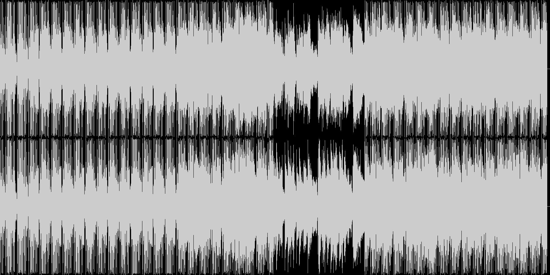 【悲しげなBGM・エレクトロニカ】の未再生の波形