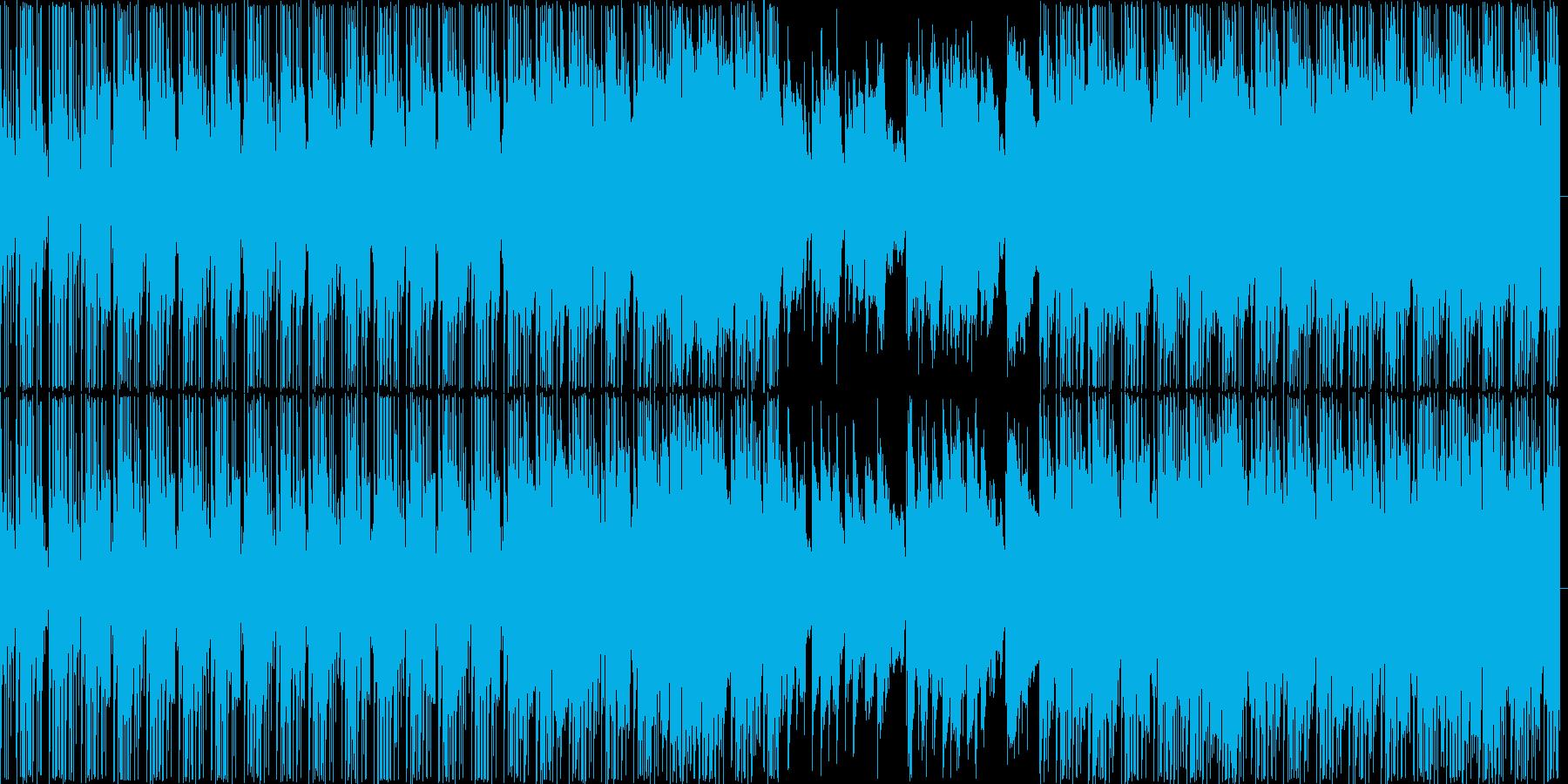 【悲しげなBGM・エレクトロニカ】の再生済みの波形