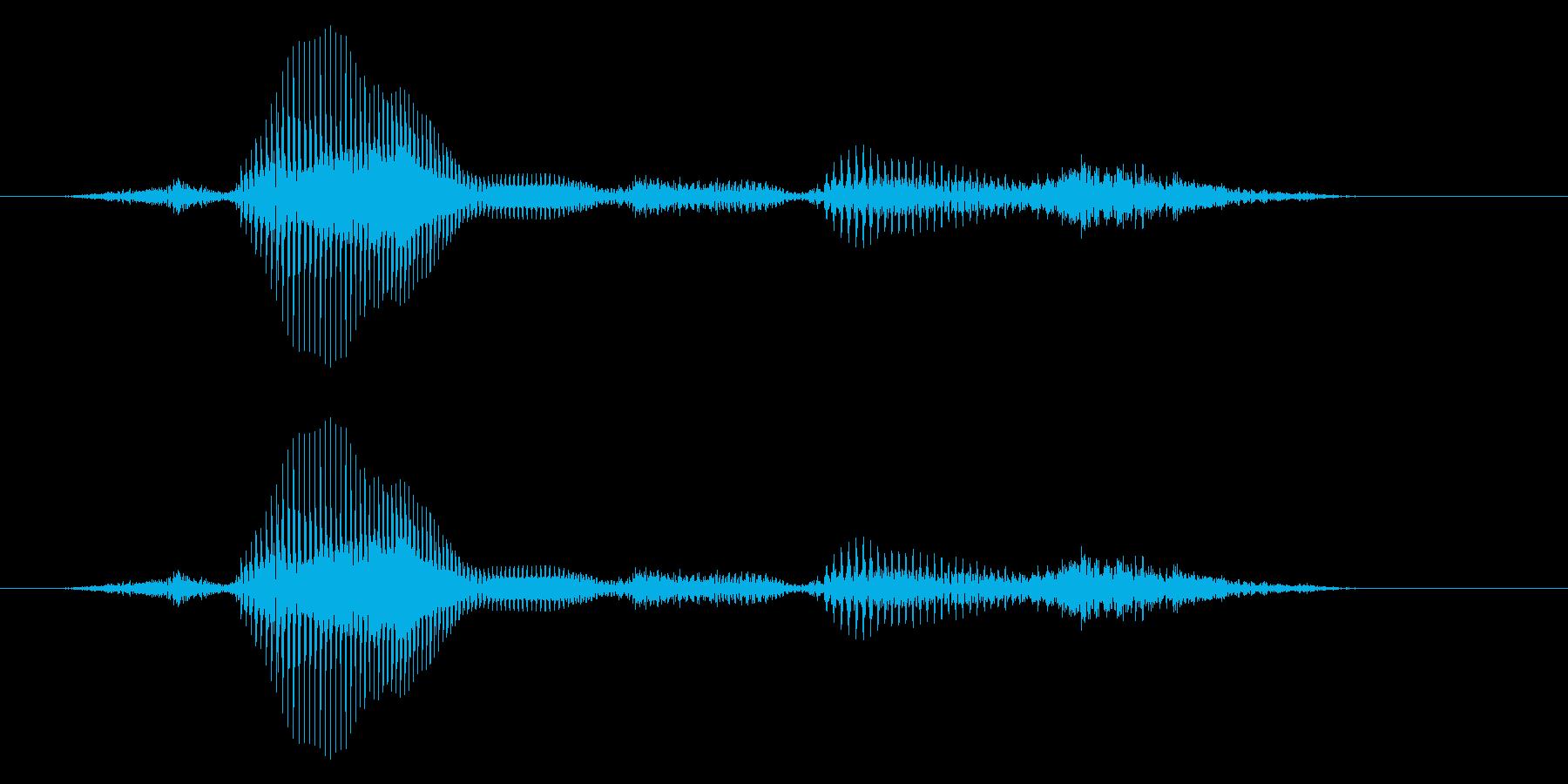 【時報・時間】3時ですの再生済みの波形