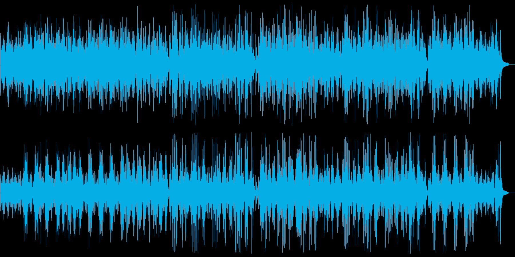 悲しげで美しいピアノシンセサウンドの再生済みの波形