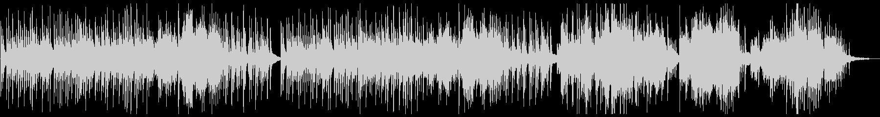 ゆったり美しいピアノソロの未再生の波形