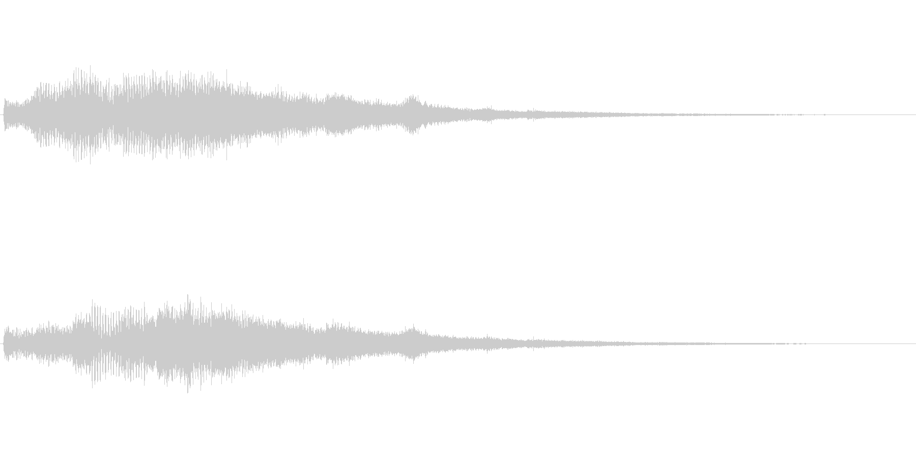 【ショートブリッジ04-2】の未再生の波形